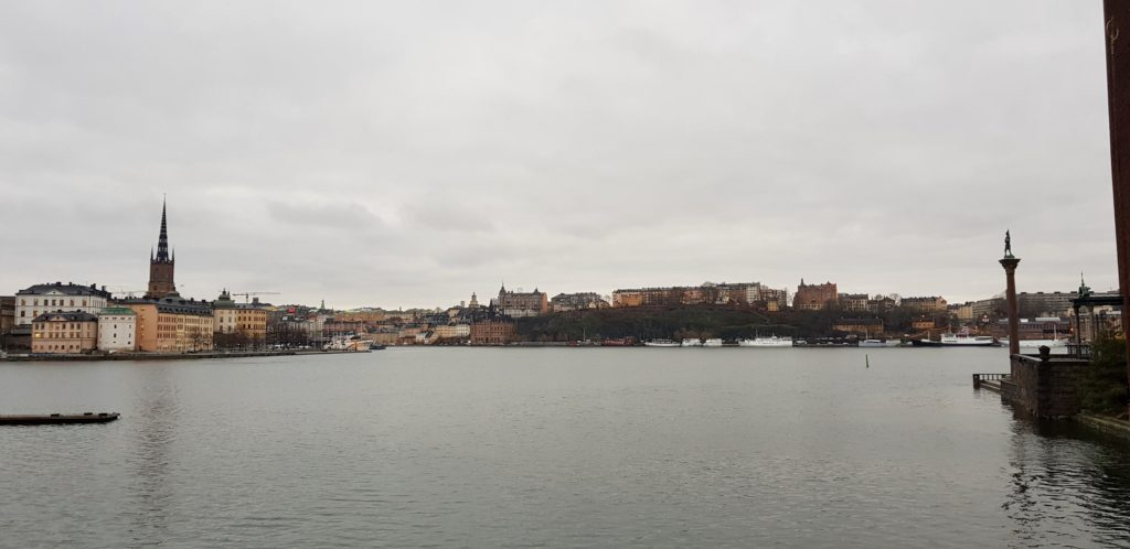 Stockholm by the water by Ingemar Pongratz